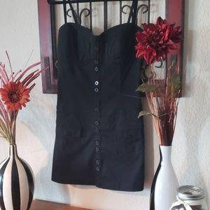 Guess Black Denim Dress. Size M.